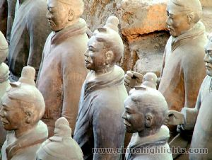 The First Emperor's Terra-cotta Army and Horse in Xian, Xi'an Travel