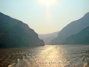 picture of Yangtze River cruise from Chongqing to Yichang