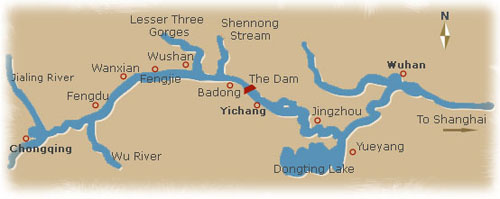 Yangtze Cruises River Cruise amp Tours China Travel Agency